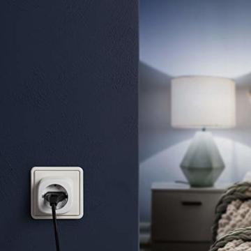 Eve Energy - Smarte Steckdose (deutsche Markenqualität), TÜV-zertifiziert, Verbrauchsmessung, Zeitpläne, schaltet Geräte ein & aus, keine Bridge nötig, Smart Plug, Apple Homekit, Bluetooth, Thread - 7