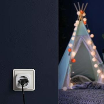 Eve Energy - Smarte Steckdose (deutsche Markenqualität), TÜV-zertifiziert, Verbrauchsmessung, Zeitpläne, schaltet Geräte ein & aus, keine Bridge nötig, Smart Plug, Apple Homekit, Bluetooth, Thread - 9