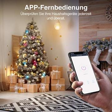 Gosund EP2 Smart Steckdose, Kleinste Alexa Stecker Gewann den German Red Dot Design Award, Stromverbrauch messen Timer Funktion Fernsteurung Smart Plugs, Kompatibel mit Alexa Google Home, 2 Packs - 7