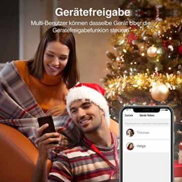 Gosund EP2 Smart Steckdose, Kleinste Alexa Stecker Gewann den German Red Dot Design Award, Stromverbrauch messen Timer Funktion Fernsteurung Smart Plugs, Kompatibel mit Alexa Google Home, 2 Packs - 8