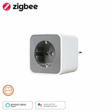 LEDVANCE Smart+ Plug, ZigBee schaltbare Steckdose, für die Lichtsteuerung in Ihrem Smart Home, Direkt kompatibel mit Echo Plus und Echo Show (2. Gen.), Kompatibel mit Philips Hue Bridge - 14