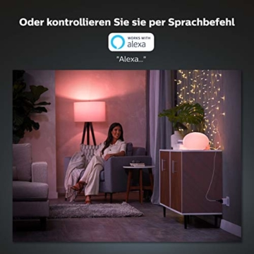 Philips Hue Smart Plug, smarte Steckdose, kompatibel mit Amazon Alexa (Echo, Echo Dot) - 3