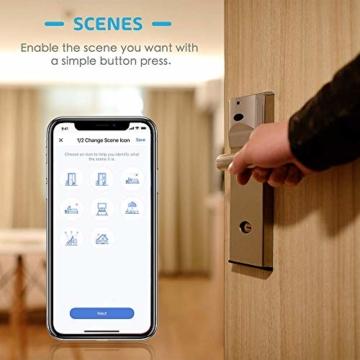 Smart Steckdose funktioniert mit Apple HomeKit, meross WLAN Plug, Inteilligent Stecker, kompatibel mit Siri, Alexa, Google Assistant und Samsung SmartThings, kein Hub erforderlich, 16 A, 2,4 GHz, 4pcs - 5