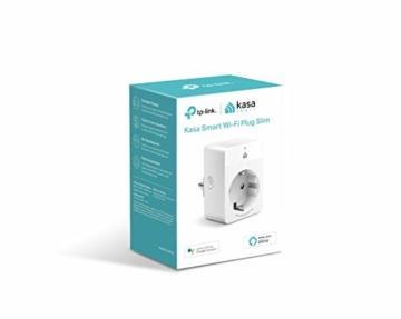 TP-Link Kasa Amazon Alexa zubehör Smart Home Wifi WLAN Steckdose KP105(EU)(Mini, funktioniert mit Google Home und SmartThings, Zeitpläne, Kein Hub erforderlich, Kasa App) - 2