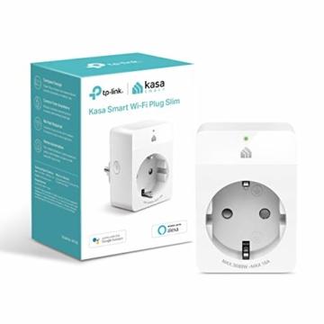 TP-Link Kasa Amazon Alexa zubehör Smart Home Wifi WLAN Steckdose KP105(EU)(Mini, funktioniert mit Google Home und SmartThings, Zeitpläne, Kein Hub erforderlich, Kasa App) - 1