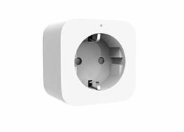 Xiaomi Mi Smart Plug (Zigbee) Ferngesteuerte Steckdose (Steuerung von Licht, elektronschen Geräten per iOS/Android Smartphone via Mi Home App o. Sprachassistent, Timerfunktion, Stromverbrauchsmessung) - 1
