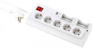 revolt-Steckdosenleiste-mit-Batterie-USB-Ladegeraet